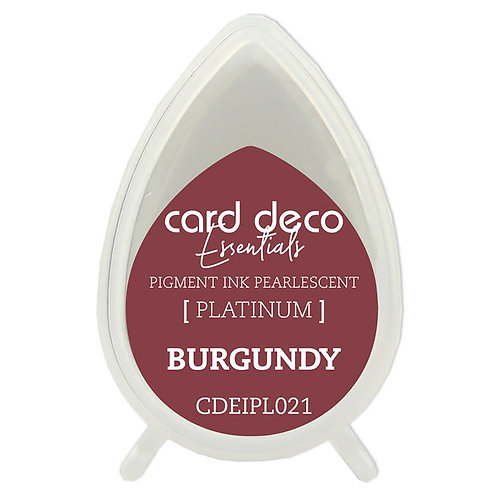 Couture Creations Card Deco Pearlescent Pigment Ink - Burgundy
