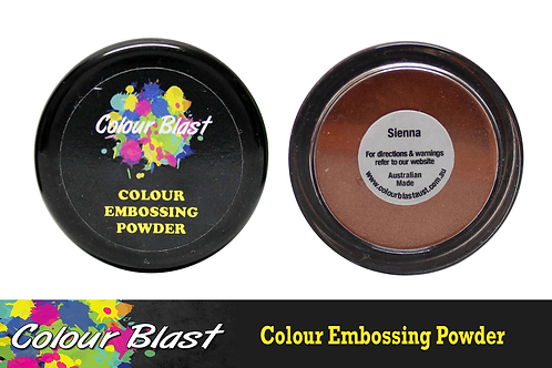 Colour Blast by Bee Arty Embossing Powder - Sienna