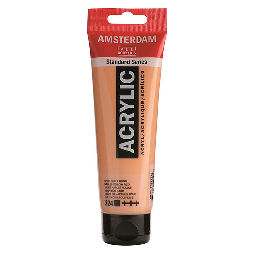 Amsterdam Standard Series Acrylic Paint - Naples Yellow Red