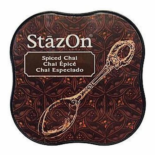 StazOn Midi Ink Pad - Spiced Chai