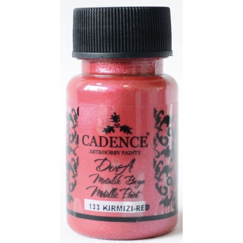 Cadence Dora Metallic Paint - 133 Red
