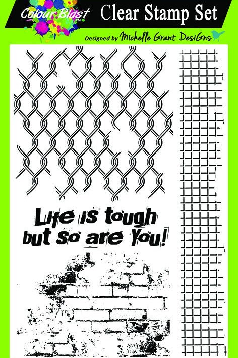 Bee Arty - Life is Tough - Life is Tough Clear Stamp Set