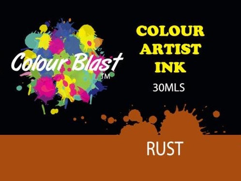 Colour Blast by Bee Arty Artist Ink - Rust