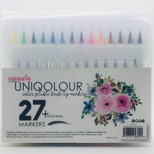 Uniquely Creative Uniqolour Markers