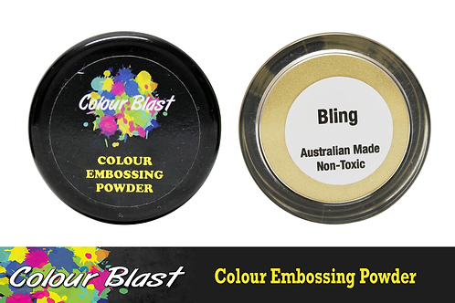 Colour Blast by Bee Arty Embossing Powder - Bling