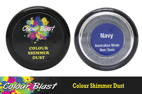 Colour Blast by Bee Arty Colour Shimmer Dust - Navy