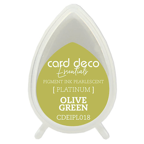 Couture Creations Card Deco Pearlescent Pigment Ink - Olive Green
