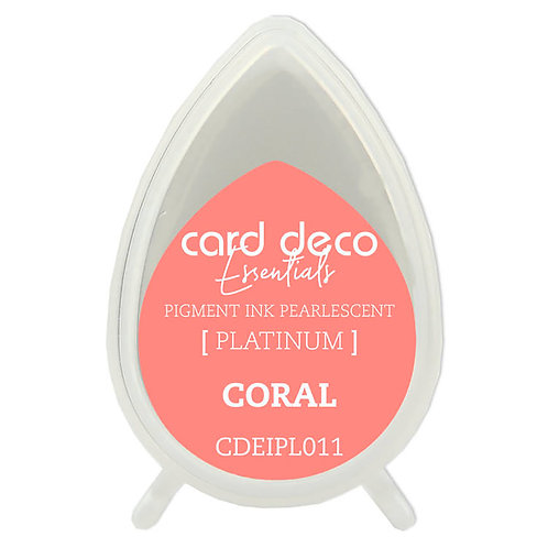 Couture Creations Card Deco Pearlescent Pigment Ink - Coral