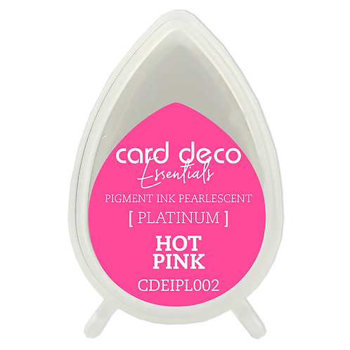 Couture Creations Card Deco Pearlescent Pigment Ink - Hot Pink