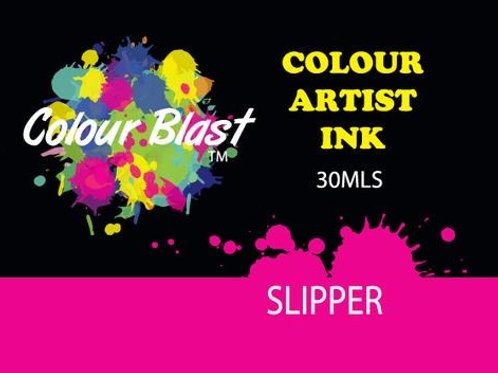 Colour Blast by Bee Arty Artist Ink - Slipper