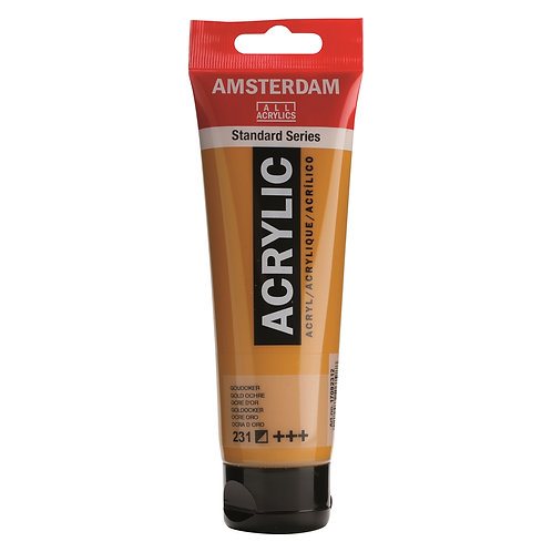 Amsterdam Standard Series Acrylic Paint - Gold Ochre