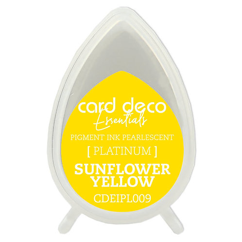 Couture Creations Card Deco Pearlescent Pigment Ink - Sunflower Yellow