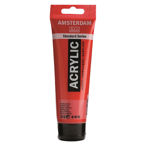 Amsterdam Standard Series Acrylic Paint - Pyrrole Red