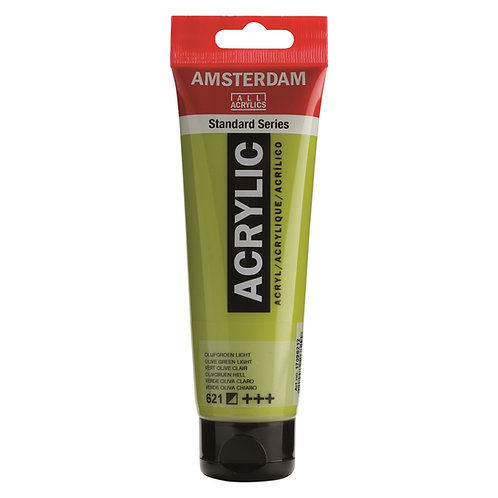 Amsterdam Standard Series Acrylic Paint - Olive Green Light