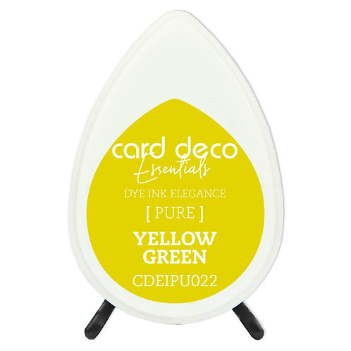 Couture Creations Card Deco Dye Ink - Yellow Green
