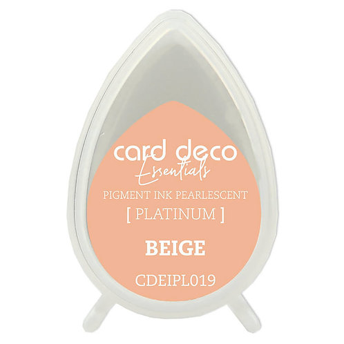 Couture Creations Card Deco Pearlescent Pigment Ink - Beige