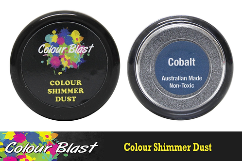 Colour Blast by Bee Arty Colour Shimmer Dust - Cobolt