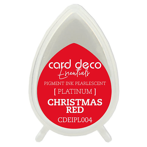 Couture Creations Card Deco Pearlescent Pigment Ink - Christmas Red