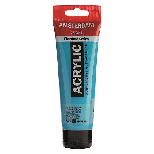 Amsterdam Standard Series Acrylic Paint - Turquioise Blue