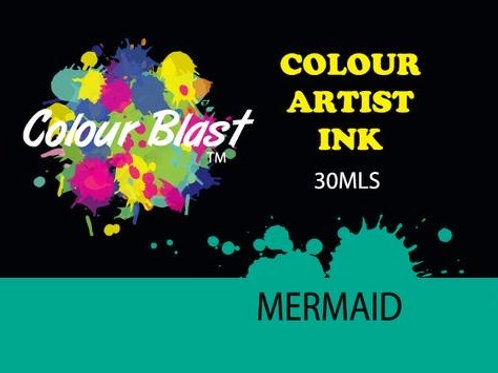 Colour Blast by Bee Arty Artist Ink - Mermaid