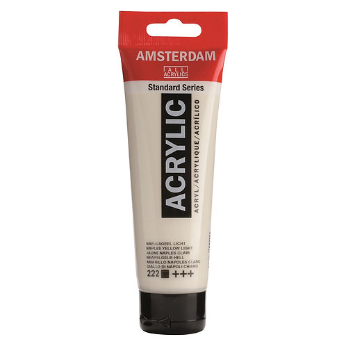 Amsterdam Standard Series Acrylic Paint - Naples Yellow