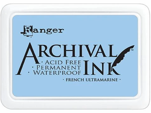 Ranger Archival Ink - French Ultramarine