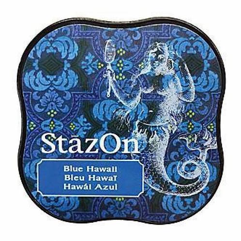 StazOn Midi Ink Pad - Blue Hawaii