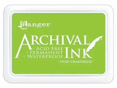 Ranger Archival Ink - Vivid Chartreuse