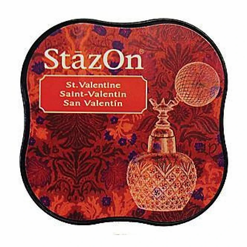 StazOn Midi Ink Pad - St Valentine