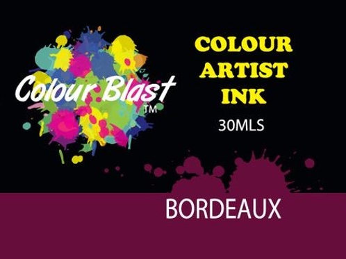 Colour Blast by Bee Arty Artist Ink - Bordeaux