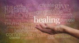 Healing words of love.