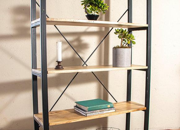 Metallic Shelf Unit