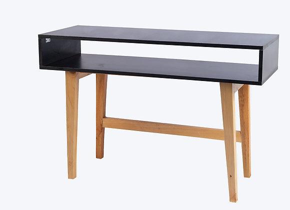 Black Particle Board Work Desk