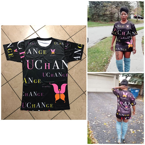 U Change shirt dress