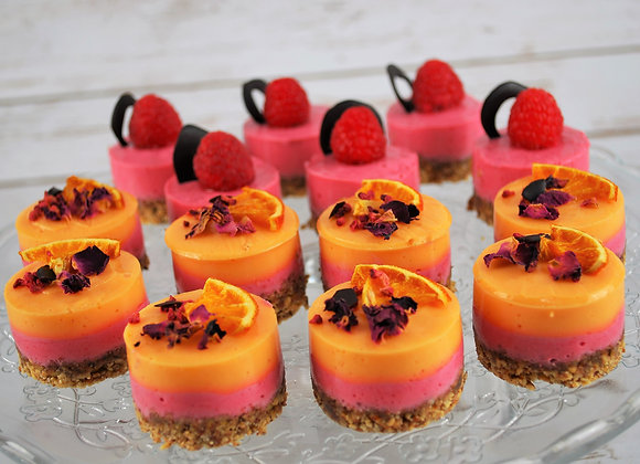 Grapefruit Mousse Bites