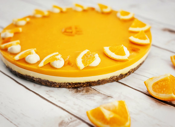 Mango and Orange Cheesecake