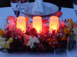 Centros de mesa LED sincronizados