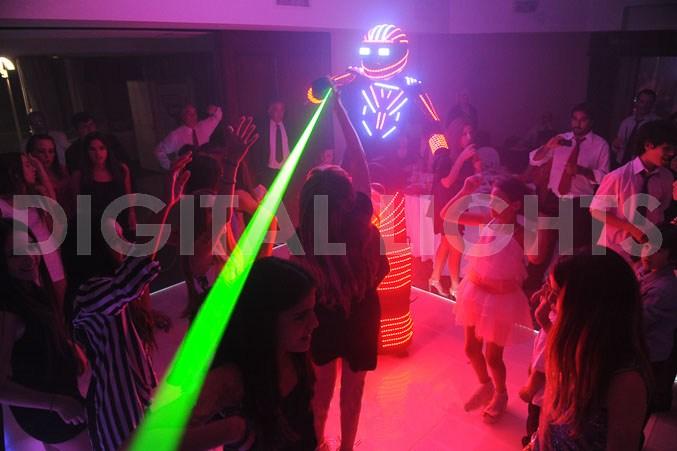 Robot LED PARTY-BOT Premium