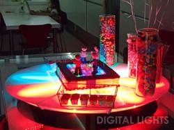 Mesa LED para torta / souveniers