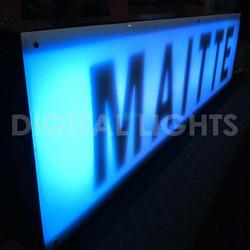 Cartel LED personalizado