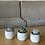 Thumbnail: סט 3 עציצי בטון, בעיצוב סוקולנטים