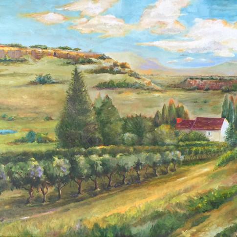 Tasting, Oil on Canvas, 20 x 24