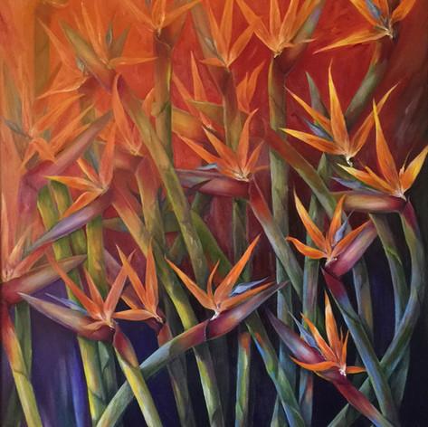 Halleujah, Oil on Canvas, 30 x 36