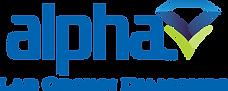 Alpha Logo Blue 2 Diamonds.png