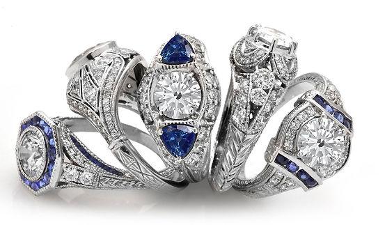 Custom Engagement Rings