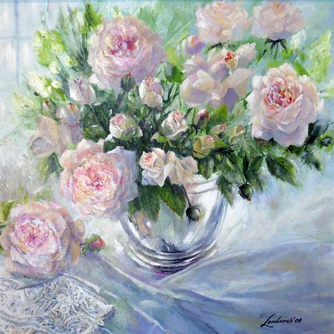 Sunday Morning, Oil on Canvas, 24 x 24