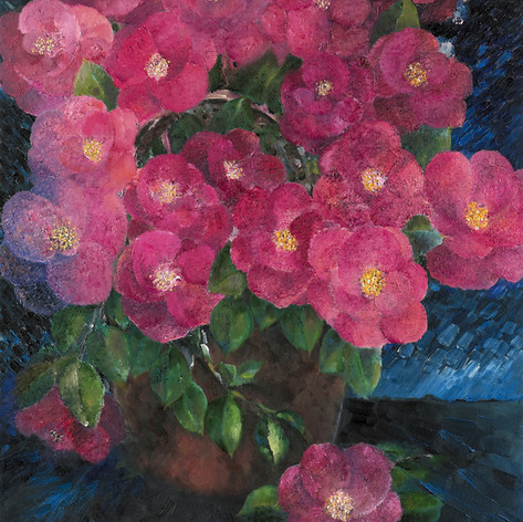 Fragrant Blossom, Oil on Canvas, 22 x 28