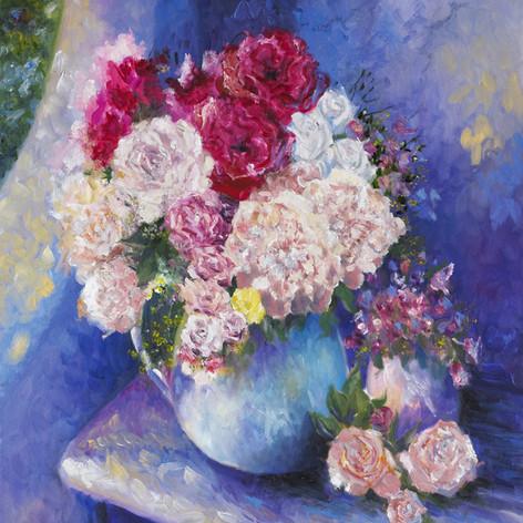 Garden Bouquet, Oil on Canvas, 20 x 24