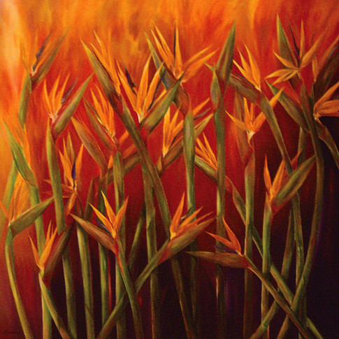 Hallelujah, Oil on Canvas, 48 x 48