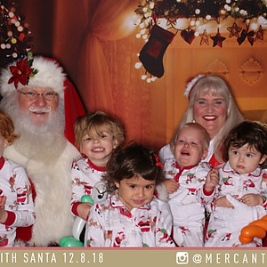 Mercantile & Mash Cookies with Santa 2018